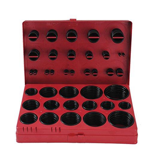 CCLIFE O-Ringe Dichtungsring Sortiment Dichtungsringe Gummi Set 419 tlg Werkzeug