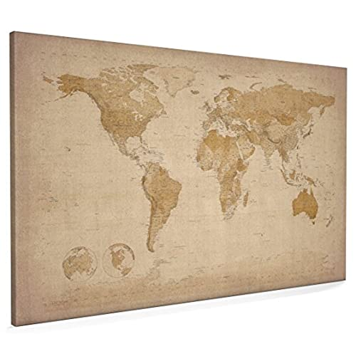 Old world maps on canvas amazon gumiabroncs Choice Image