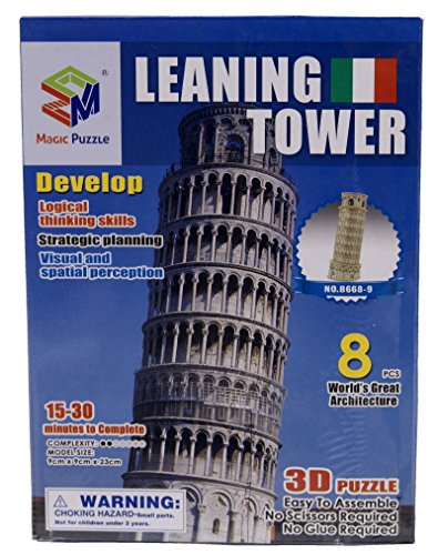 Clementoni Puzzle Cornice Leaning Tower - Made in Italy