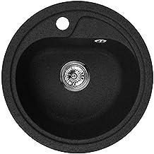 Spülbecken granit rund  Suchergebnis auf Amazon.de für: granitspüle rund