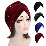 TITAP Winter Hats for Women 2018 Chemo Hat Muslim Cancer Chemo Hat Beanie Scarf Turban Head Wrap Cap