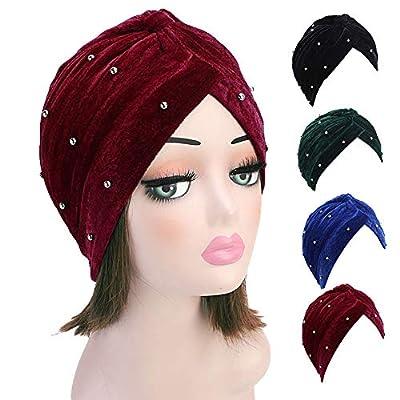 TITAP Winter Hats for Women 2018 Chemo Hat Muslim Cancer Chemo Hat Beanie Scarf Turban Head Wrap Cap