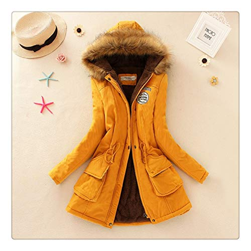 Yyixianma Winter Women Coat 2018 Parka Casual Outwear Military Hooded Coat  Woman Clothes Fur Coats Female 108624cce6