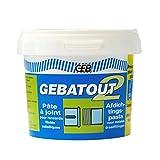 GEB 103982 Gebatout 2 Pâte à joint pour raccords filetés métalliques en plomberie/chauffage Boîte N° 2 500 g