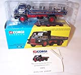 corgi classics W & J riding bedford S type dropside truck 1.50 scale limited edition diecast model