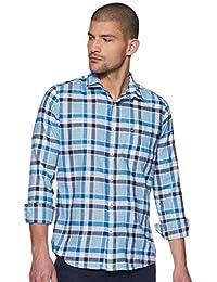 Integriti Men's Checkered Slim fit Casual Shirt