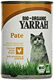 YARRAH Bio Katzenfutter Pate mit Huhn 400 g