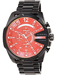 Diesel Chi Chronograph Black Dial Men's Watch-DZ4318