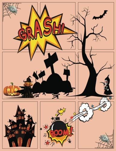 "Blank Comic Book Next Generation Trick or Treat Halloween Gift: Draw Your Own Halloween comics or any creativity you want, Large or Big 8.5""x11"" ... Pumpkin (Spoke Halloween Party, Band 2)"