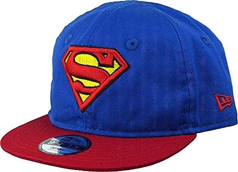 New Era Hero Essential 9Fifty Infant Snapback Cap SUPERMAN Blau Rot, Size:Infant