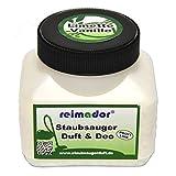 Staubsauger Duftgranulat Limette Vanille 250 ml mit reimador Geruchskiller für die Geruchsneutralisierung beim Saugen