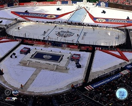 Nhl Poster Shop (The Poster Corp Nationals Park 2015 NHL Winter Classic Photo Print (25,40 x 20,32 cm))