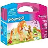 Playmobil Princesas - Princesa con caballo, maletín grande (5656)