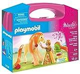 PLAYMOBIL 5656.0 Großer Spielekoffer mit bezauberndem Pferd + Prinzessinfigur, Spielset