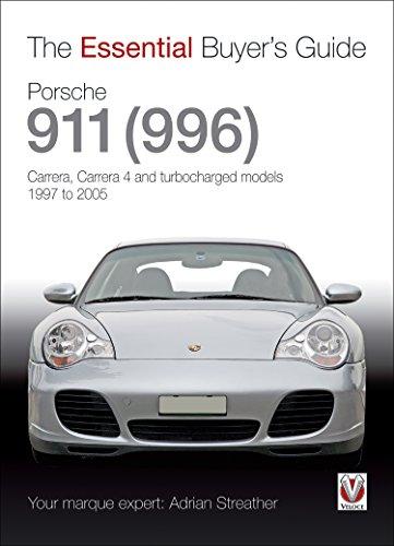 Porsche 911 (996): Carrera, Carrera 4 and turbocharged models. Model year