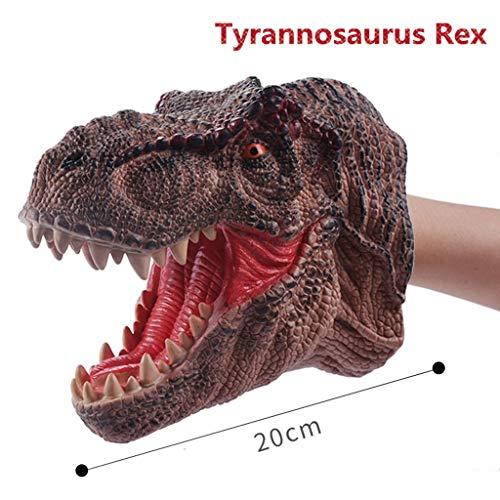 LyGuy Dinosaurio Animal Suave Marioneta De Mano De