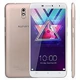 "CUBOT HAFURY Umax - Smartphone Libre de 6.0"" ( 4500mAh batería, 2GB Ram + 16GB ROM, Quad core, Dual SIM, Android 7.0, Cámara 13Mp, 1.3 GHz,3G), color dorado[ CUBOT OFICIAL ] - Cubot - amazon.es"