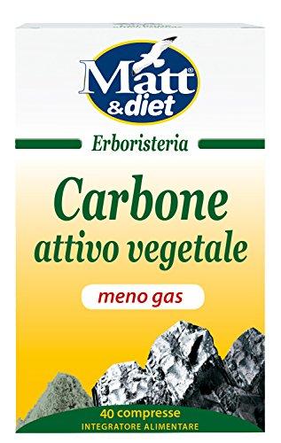 Matt&Diet Carbone Attivo Vegetale - 37.8 gr