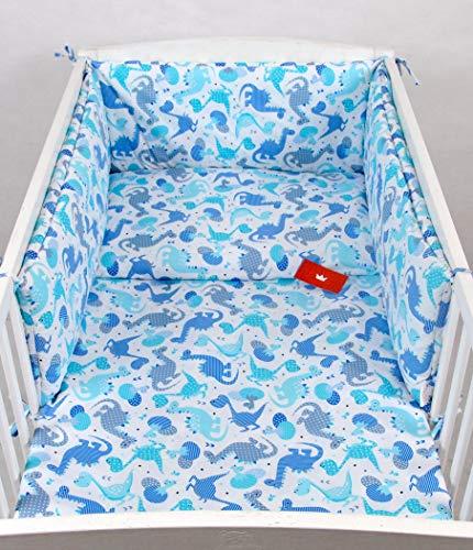 BABYLUX Bettwäsche Bezug 2 Tlg. 100 x 135 cm Kinderbettwäsche Bettwäsche Bettset Babybettwäsche TEDDYBÄREN