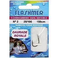 Flashmer/Anzuelos montados especiales para pesca de dorada