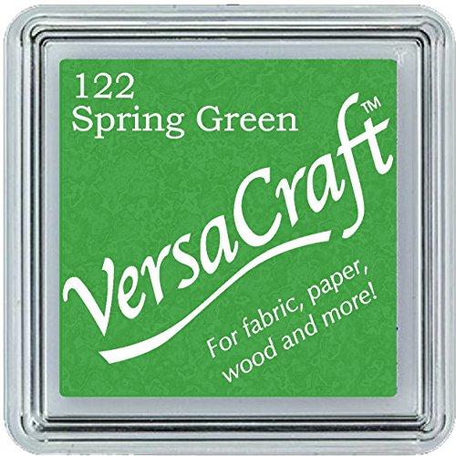 Kiwi Tsukineko Versacraft Ink Pad, verde, Small Spring
