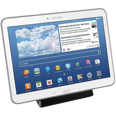kwmobile Estación de carga micro USB para Samsung Galaxy Tab 4 10.1 T530 / T531 / T535 - Docking station micro USB cable de carga soporte de carga en