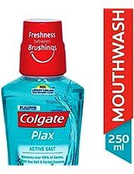 Colgate Plax Active Salt Alcohol free Mouthwash - 250 ml