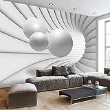 murando - Fototapete 250x175 cm - Vlies Tapete - Moderne Wanddeko - Design Tapete - Wandtapete - Wand Dekoration - Kugel Abstrakt 3D a-A-0154-a-c