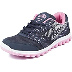 Asian Shoes Women's Mesh Running Shoes (RIYA-21s7cNBLPNK__Navy Blue Pink_7 UK/Indian)