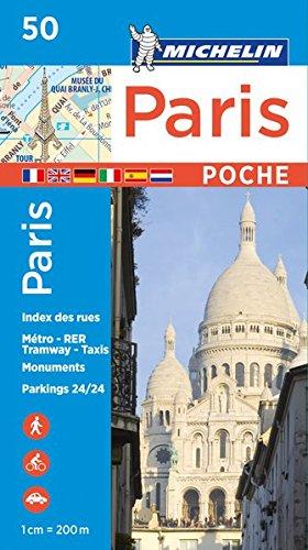 Michelin Paris Pocket Map 50 (Plan Poche) por Michelin