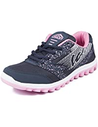 Asian shoes Riya 21 Navy Blue Pink Women Sports Shoes