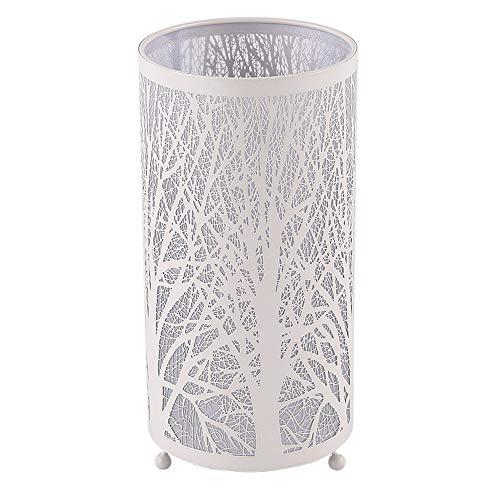 Éclairage de fer lampes de table, nordique LED décoration creuse lampe de bureau blanc moderne minimaliste salon étude personnalité nuit lumière