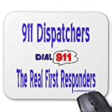 Real First Responders 911 Dispatcher Mouse Pad
