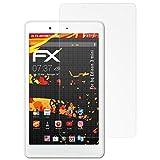 atFolix Schutzfolie kompatibel mit bq Edison 3 Mini Bildschirmschutzfolie, HD-Entspiegelung FX Folie (2X)