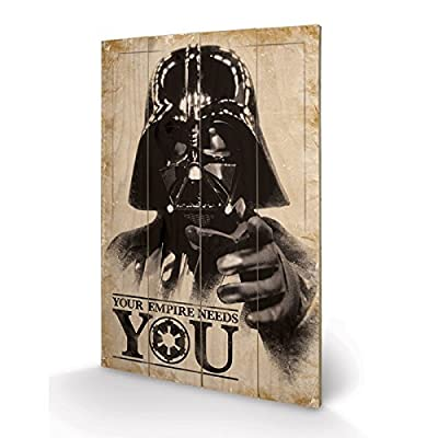 PYRAMID - Panneau en Bois Star Wars Your Empire Needs You