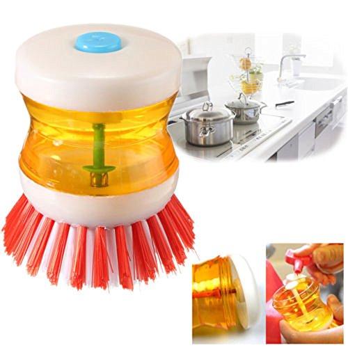 YCANK - Dispensador jabón líquido cepillo lavar
