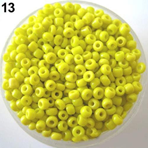 1200 piezas 2 mm espaciador cuentas sueltas DIY pulsera