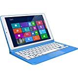 Kurio Smart hybride 2 en 1 tablette et PC deciic15200 22.61 cm (8,9) Intel Core 2 Quad baytrail z3735g T 1 Go de RAM, disque dur 32 Go, HD graphic (Gen 7) Win 10 Home Écran tactile blanc/bleu