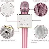 Piqancy Q7 Mic Wireless Karaoke Microphone Condensor (Assorted) For All Android & iOS Devise