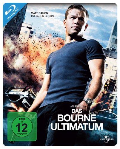 (3) Das Bourne Ultimatum - Steelbook [Blu-ray]