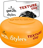 Schwarzkopf Got2b iStylers Texture Clay, 3er Pack (3 x 75 ml)