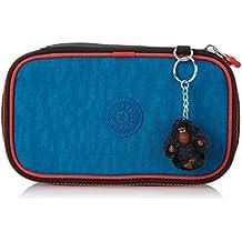 Kipling - 50 PENS - Estuche mediano - Blue Orange Bl - (Azul)