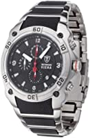 DETOMASO Siena Men's Quartz Watch with Black Dial Analogue Display and Multicolour Stainless Steel Bracelet Mtm8806C-Bk1
