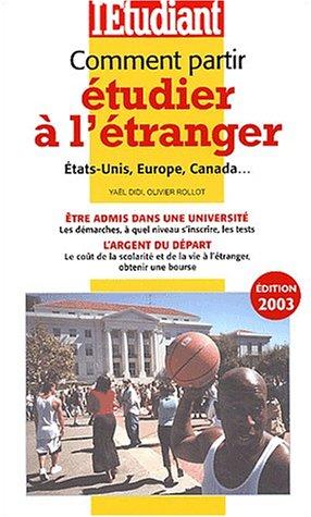 Comment partir étudier à l'étranger 2003