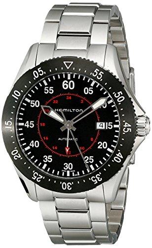Preisvergleich Produktbild Hamilton Khaki Aviation Pilot GMT H76755135