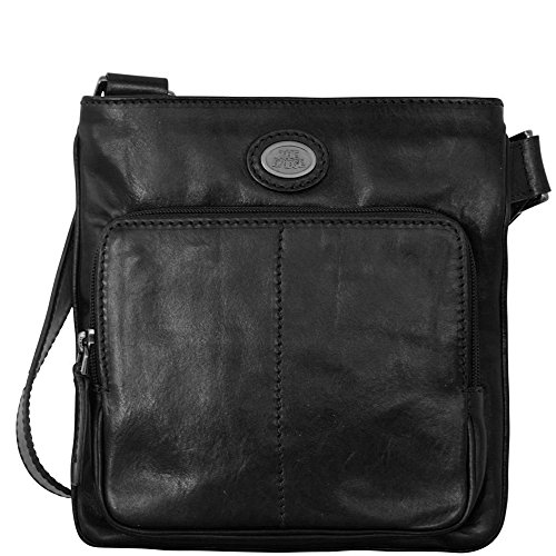 The Bridge Story Uomo Sac bandoulière cuir 22 cm Black