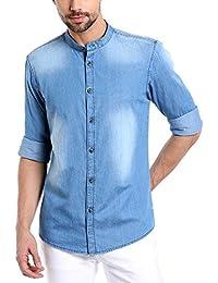 303d05871b Denim Men s Casual Shirts  Buy Denim Men s Casual Shirts online at ...