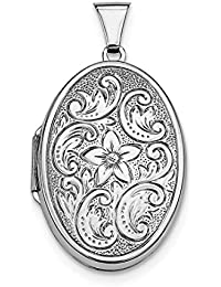 925 Sterling Silver Oval Photo Pendant Charm Locket Chain Necklace That Holds Pictures Fine Jewelry For Women Gift Set