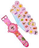 HH Poland Armbanduhr für Kinder Kinderuhr Lehrnuhr Projektor Spielzeug Smartwatch Mädchen