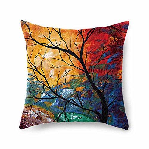 Fashion·LIFE Bunte Kissen, bunte, dekorative quadratische Kissen Kissen, 45 x 45, multicolor
